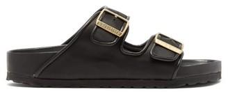 Birkenstock X Il Dolce Far Niente - Arizona Fullex Satin Sandals - Womens - Black
