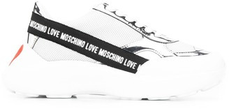 Love Moschino Chunky Sole Panelled Sneakers
