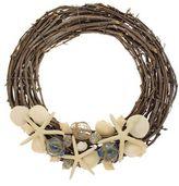 Floral Treasure Buoy Wreath