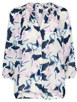 Tucker Classic Blouse in Horses Print