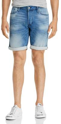 Jack and Jones JACK + JONES Icon Regular Fit Denim Shorts in Light Blue