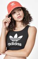 adidas Relaxed Red Strapback Dad Hat