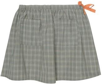 Caramel Norton cotton-blend skirt
