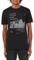 Topman Men's 'Destroy Unlock' Graphic T-Shirt