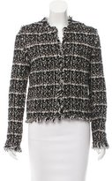Les Copains Collarless Tweed Jacket w/ Tags
