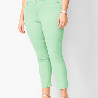 Talbots Denim Jegging Crops