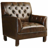 Asstd National Brand Allison Faux Leather Chair