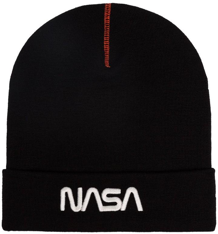 Heron Preston NASA beanie hat