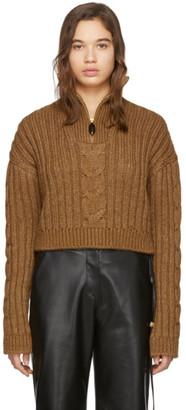 Nanushka Brown Eria Sweater