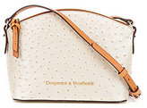 Dooney & Bourke Ostrich Collection Ruby Cross-Body Bag