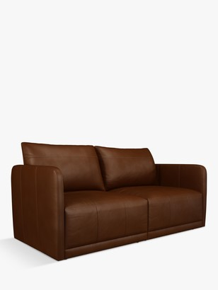 John Lewis & Partners Bundle Small 2 Seater Leather Sofa