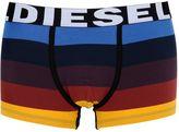 Diesel Striped Stretch Cotton Boxer Briefs
