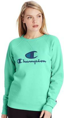 Champion Women's Powerblend Fleece Crewneck Sweatshirt