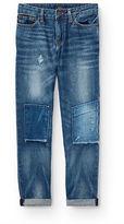 Ralph Lauren 8-20 Sullivan Slim Repaired Jean