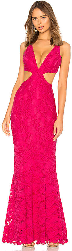 Lovers + Friends Eliot Lace Gown