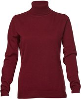 Cashmere Boutique Women's Pure Cashmere Turtle Neck Sweater (, Extra Large)
