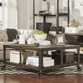 HomeVance Harthan Industrial Coffee Table