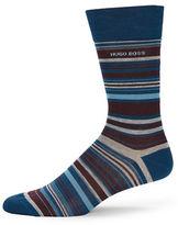 Hot Sox Striped Dress Socks