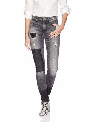 Calvin Klein Women's High Rise Slim Fit Jeans