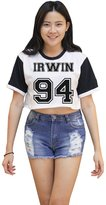 Me Women's Ashton Irwin 94 5SOS Crop T-shirt