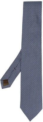 Church's Check-Jacquard Silk Tie