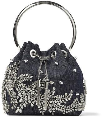 Jimmy Choo Bon Bon embellished top handle bag