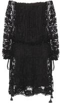 Chloé Cotton-blend Lace Dress
