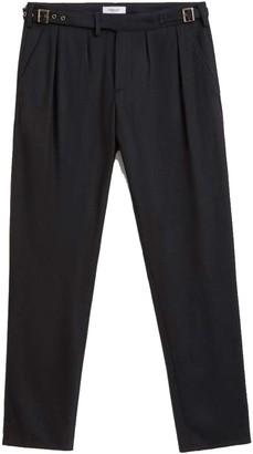Dondup Pantalone Regular Nero Uomo