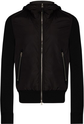 Tom Ford Hooded Zip-Front Jacket