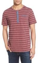 Jeremiah Men's 'Lars' Stripe Pique Pocket Henley T-Shirt
