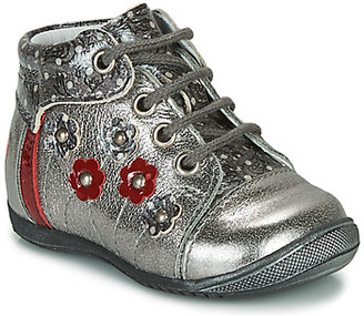 GBB NAYANA girls's Mid Boots in Silver