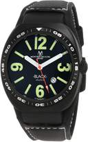 Montres de Luxe Men's AVI-40-QZ-N/G-C Dial Watch.