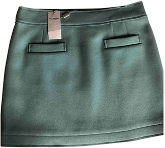 Philosophy di Alberta Ferretti Green Wool Skirt for Women