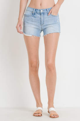 Just Black Denim Destroyed Denim Short