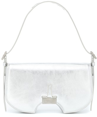 Off-White Swiss leather shoulder bag