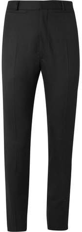 Cmmn Swdn Black Samson Sailor Slim-Fit Wool Trousers