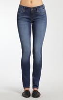 Mavi Jeans Adriana Super Skinny In Indigo Gold Feather