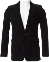 Burberry Black Velvet Jackets