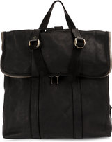 Guidi foldover top backpack - men - Calf Leather - One Size