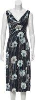 Jason Wu Floral Print Midi Dress