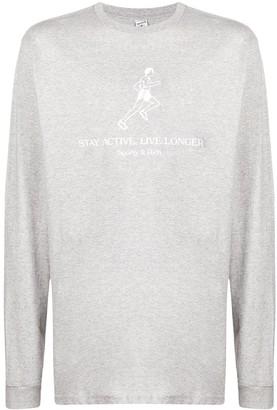 Sporty & Rich Stay Active, Live Longer sweatshirt