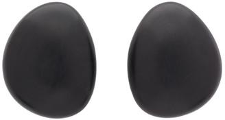 Monies Jewellery Black Lima Earrings
