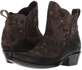 Old Gringo Bonnie Short (Brown/Black) Cowboy Boots