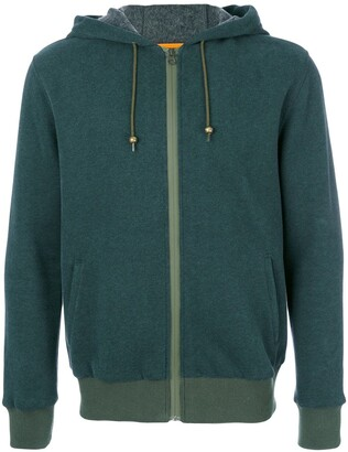Mr & Mrs Italy Patched Zipped Hoodie
