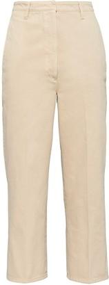 Prada Cropped Poplin Jeans
