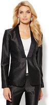 New York & Co. Tuxedo Dot-Print Jacket