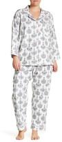BedHead Classic Chandelier Long Sleeve PJ 2-Piece Set (Plus Size)