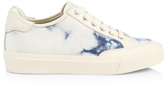 Rag & Bone RB Army Low-Top Tie-Dye Denim Sneakers