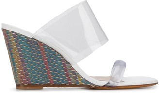 Maryam Nassir Zadeh Olympia woven wedge sandal