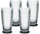 Villeroy & Boch Boston Smoke High Ball Glasses/Set of 4